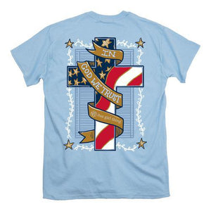 Itsa - USA Cross - Short Sleeve - Light Blue