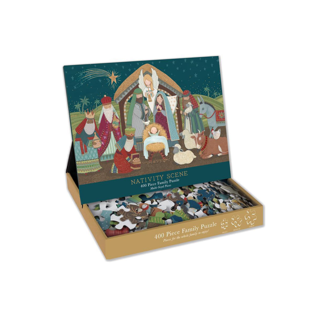 Christmas - Nativity 400 Piece Family Puzzle