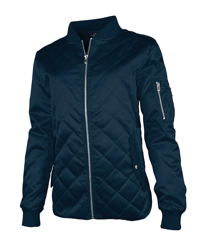 CR 5027 - Quilted Boston Jacket - Navy