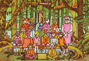 TSP - Woodland School Animals