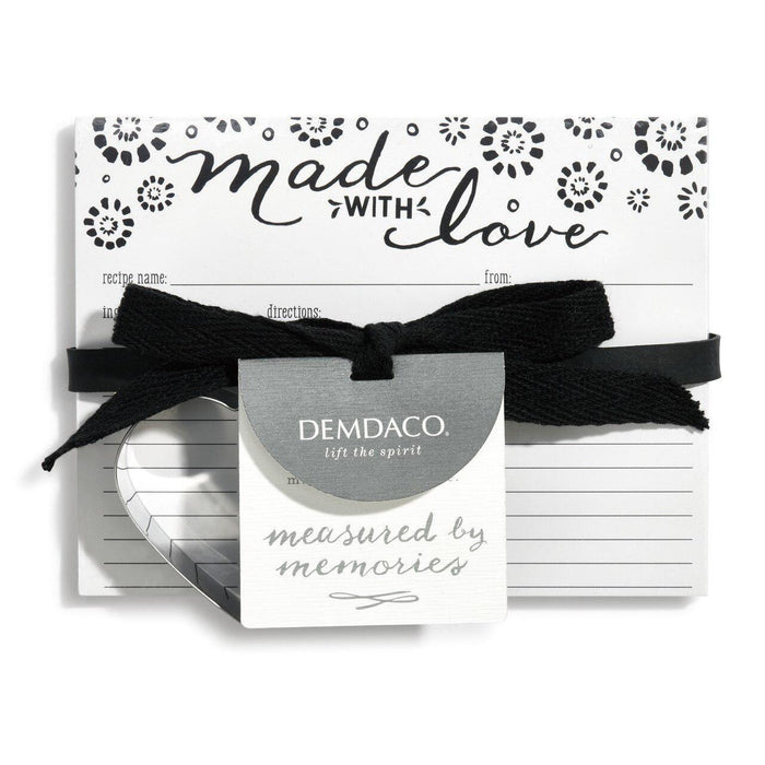 DEM - Made with Love Recipe Card Set