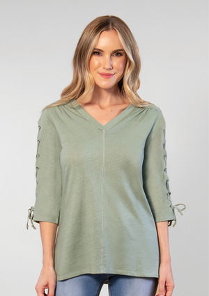 SN - Simply Noelle X's and O'x Top - Small/Medium (8-10)