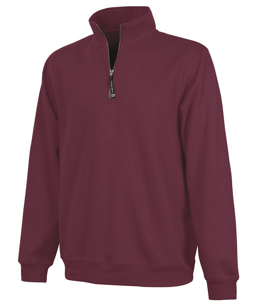CR 9359 Crosswind Qtr Zip Sweatshirt - Maroon