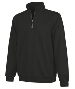 CR 9359 Crosswind Qtr Zip Sweatshirt - Black