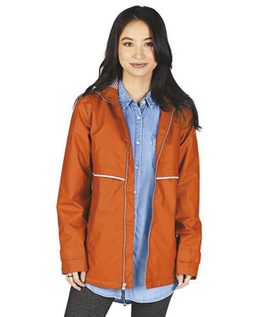 Rainjacket 5996 - Orange/Stripe