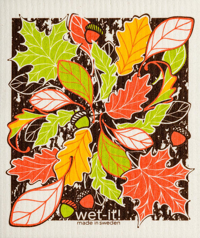WI - Wet-It! Swedish Cloth - Beautiful Fall