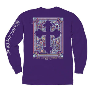 Itsa - Knockout Cross - Long Sleeve - Purple