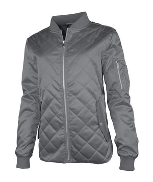 Quilted Boston Jacket 5027 - Grey