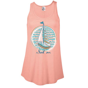 Itsa - Tank Top - Sail On - Blush