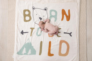 Photo Swaddle - Born Wild