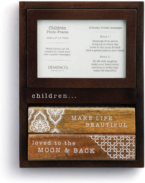 DEM - Photo Frame - Children