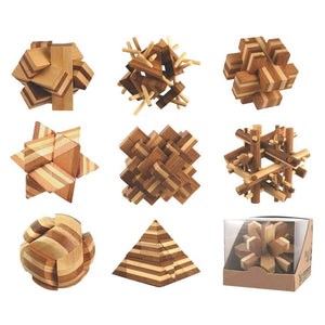 StL - Bamboo Puzzles - Assorted Puzzles