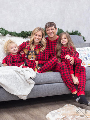 SG - Oh, Christmas Tree Family Pajamas - Adult Sizes