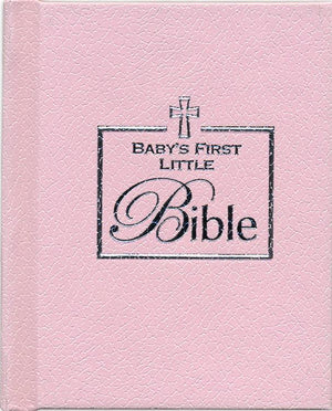 Bible - Baby Girl First Bible - Pink