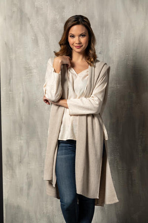 DEM - Recycled Knit Duster - Taupe