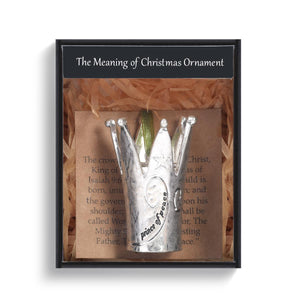 DEM - Christmas Ornament - Meaning of Christmas Crown