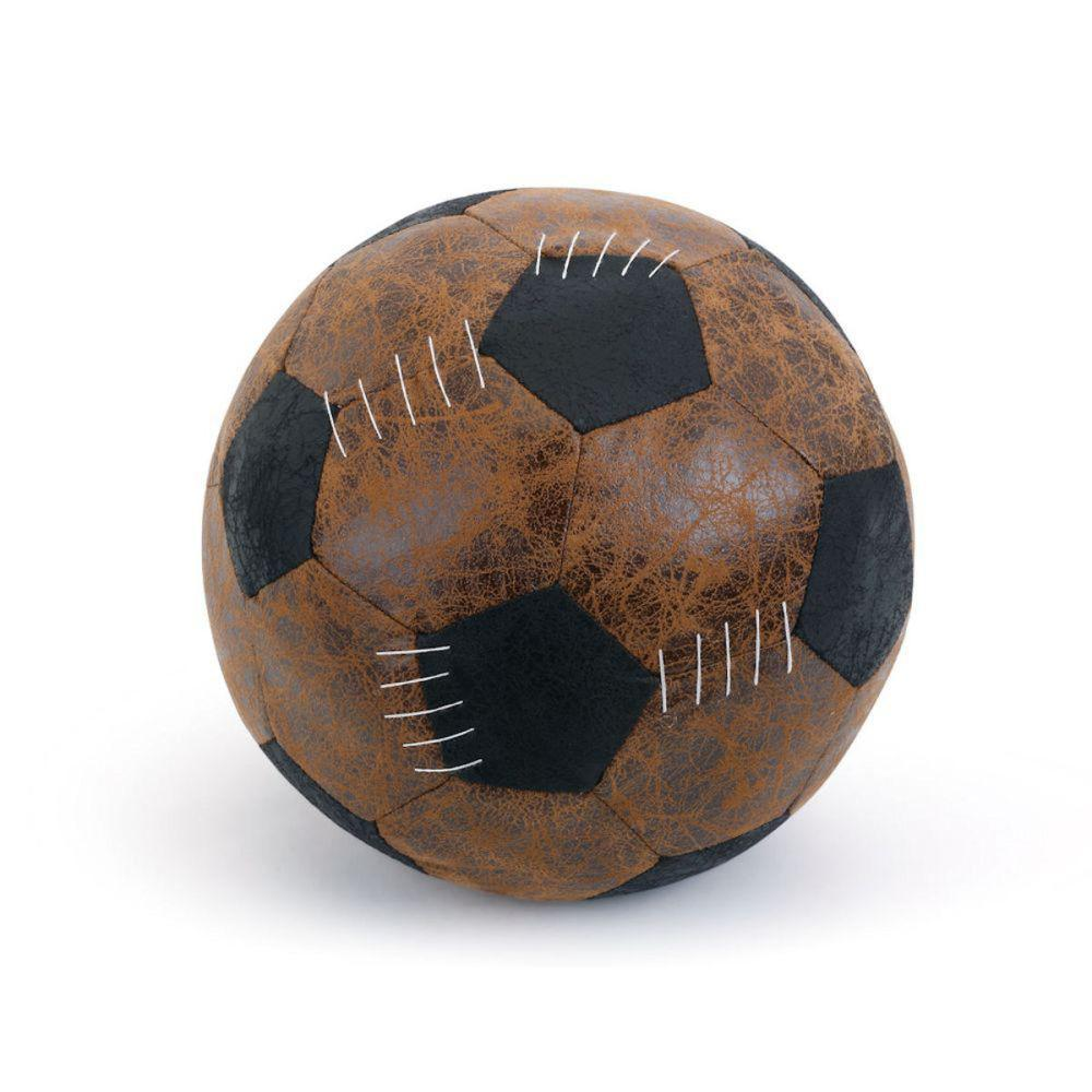 Door Stop - Faux Leather Soccer Ball