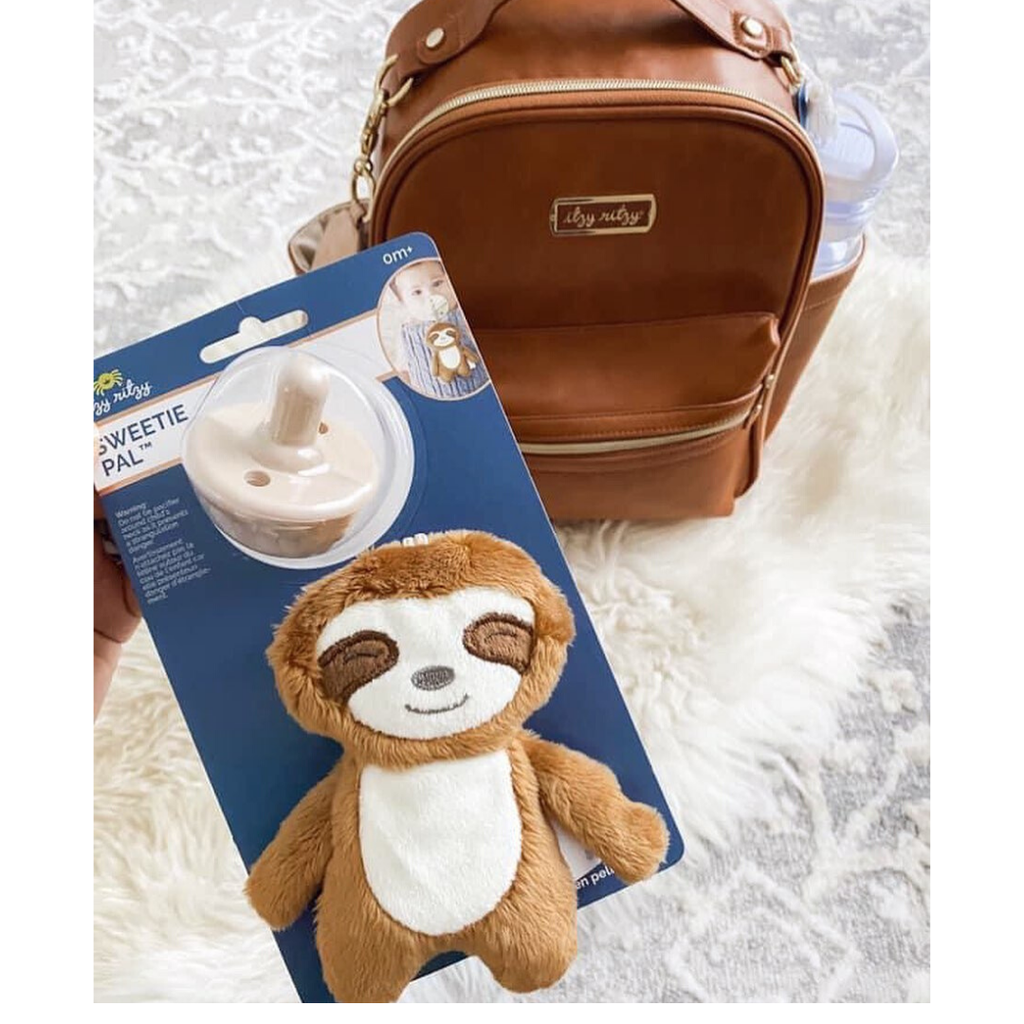 Sweetie Pal - Pacifier & Plush Animal - Sloth