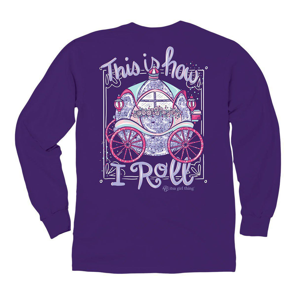 Itsa - YOUTH LONG SLEEVE - How I Roll - Purple