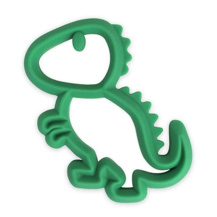 Chew Crew Silicone Baby Teether - Dinosaur