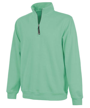 CR 9359 Crosswind Qtr Zip Sweatshirt - Mint