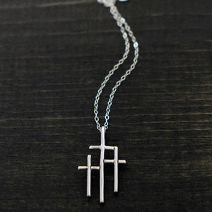 TVP - Necklace - At The Cross (Sterling Silver)
