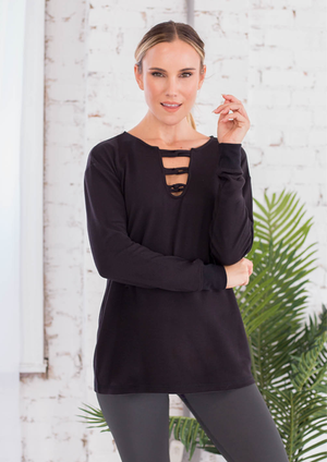 SN - Simply Noelle Drop And Give Me Zen Pullover - Small/Medium (8-10)