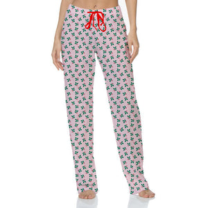 Hello Mello Holiday Pants - Holly Berry