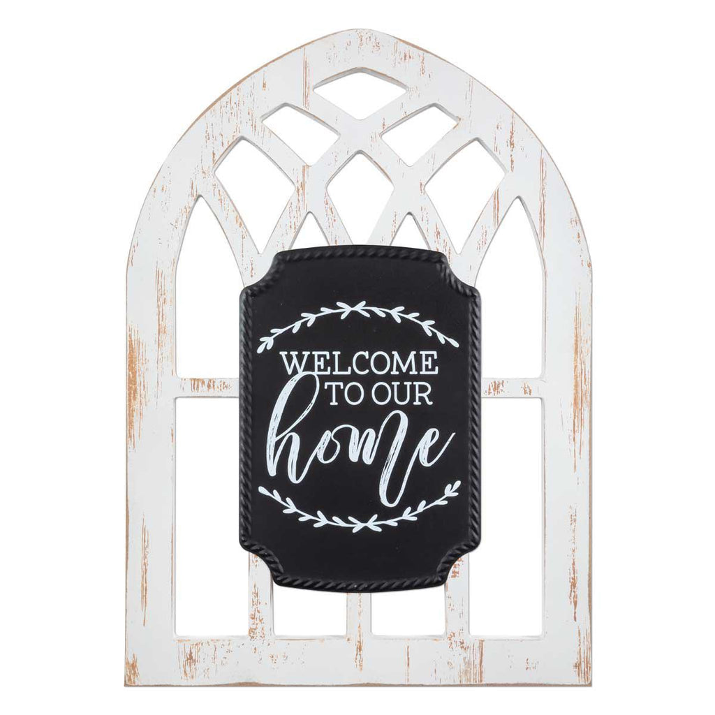 Arched Sign - Welcome