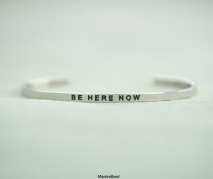 MB - Bracelet - Be Here Now