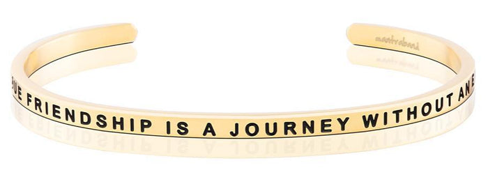 MB - Bracelet - A True Friendship Is A Journey