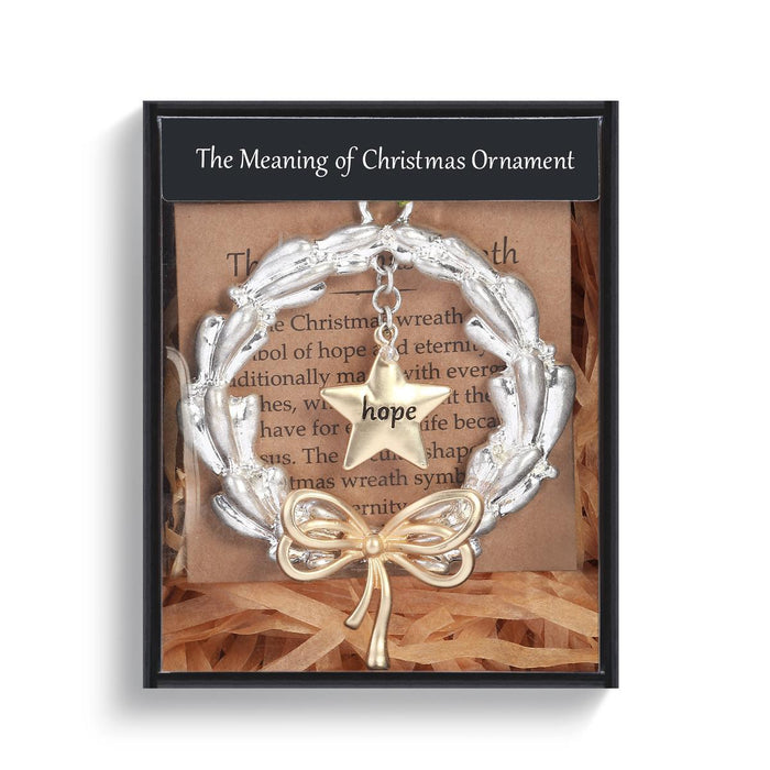 DEM - Christmas Ornament - Meaning of Christmas Wreath