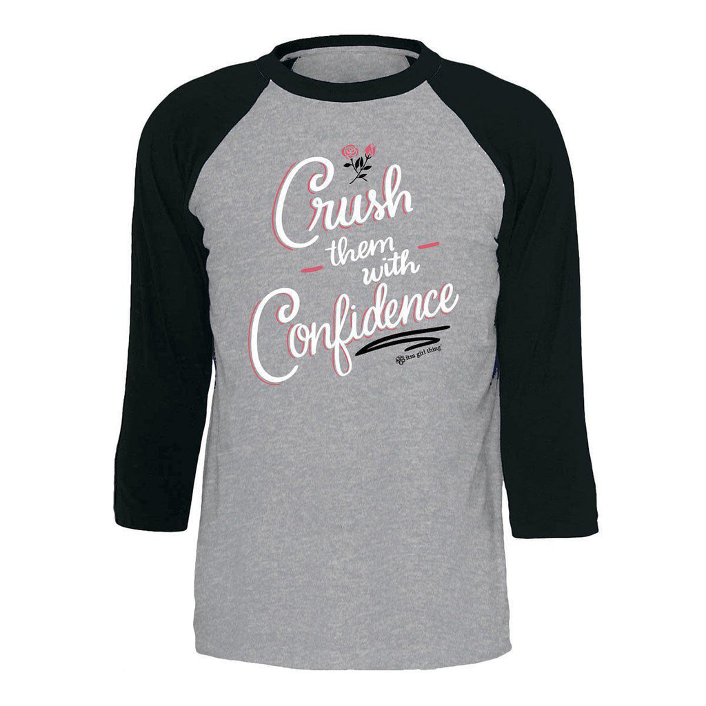 Itsa - YOUTH RAGLAN - Crush With Confidence