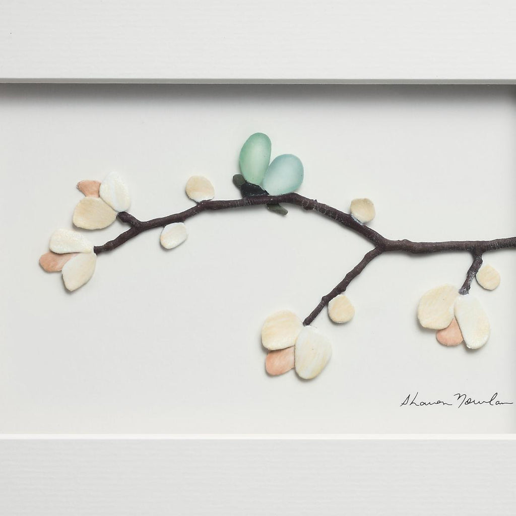 Blossoms and Butterfly Wings Wall Decor