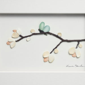 DEM - Blossoms and Butterfly Wings Wall Decor