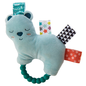 Taggies Original Shake & Teethe Arctic Bear - 5""