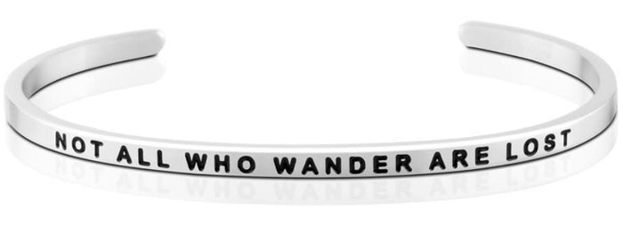Bracelet - Not All Who Wander Are Lost