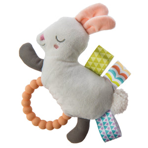 Taggies Original Shake & Teethe Bunny - 5""