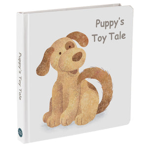 "Board Book - Puppy's Toy Tale - 8"" x 8"""