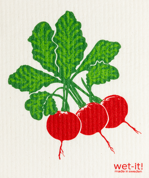 WI - Wet-It! Swedish Cloth - Radish