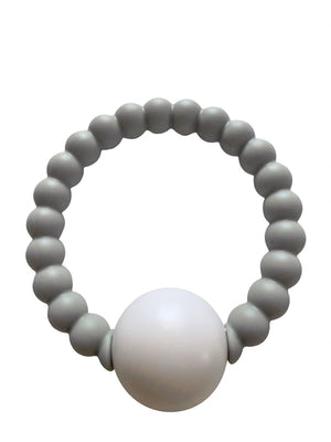 ChewC - Teether Toy Rattle - Grey