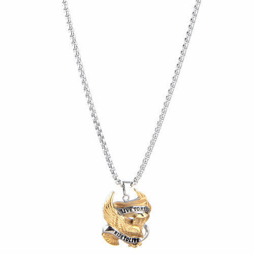 anthony jewelry d chain products stainless necklace michael steel