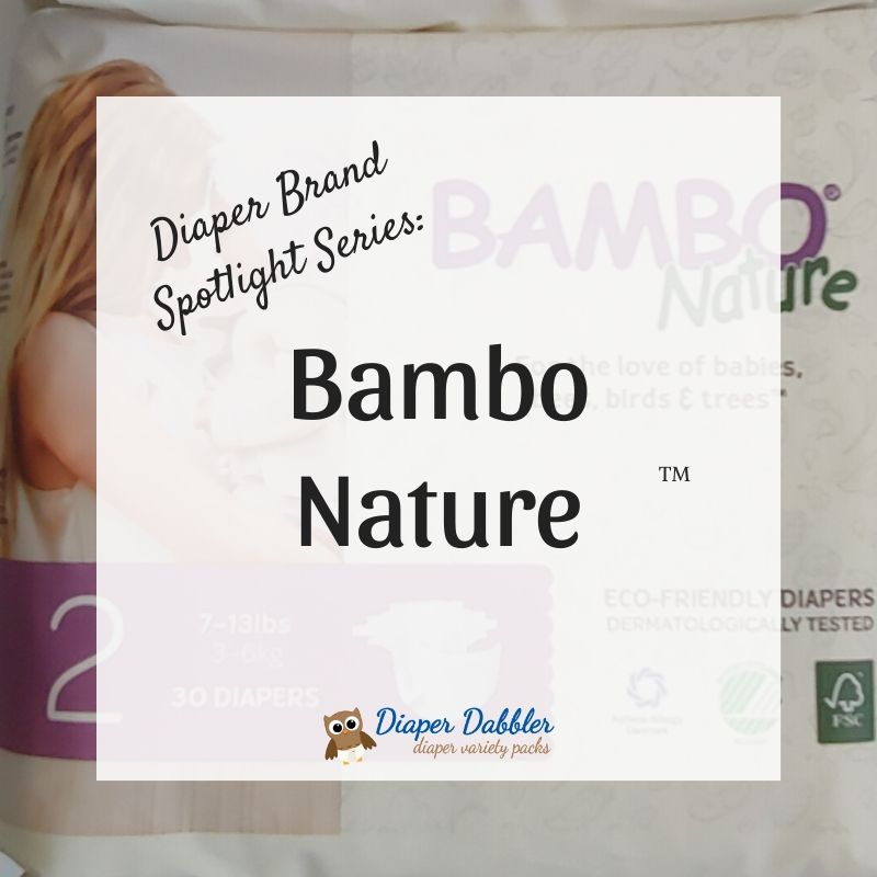 Diaper Brand Spotlight Series: Bambo Nature