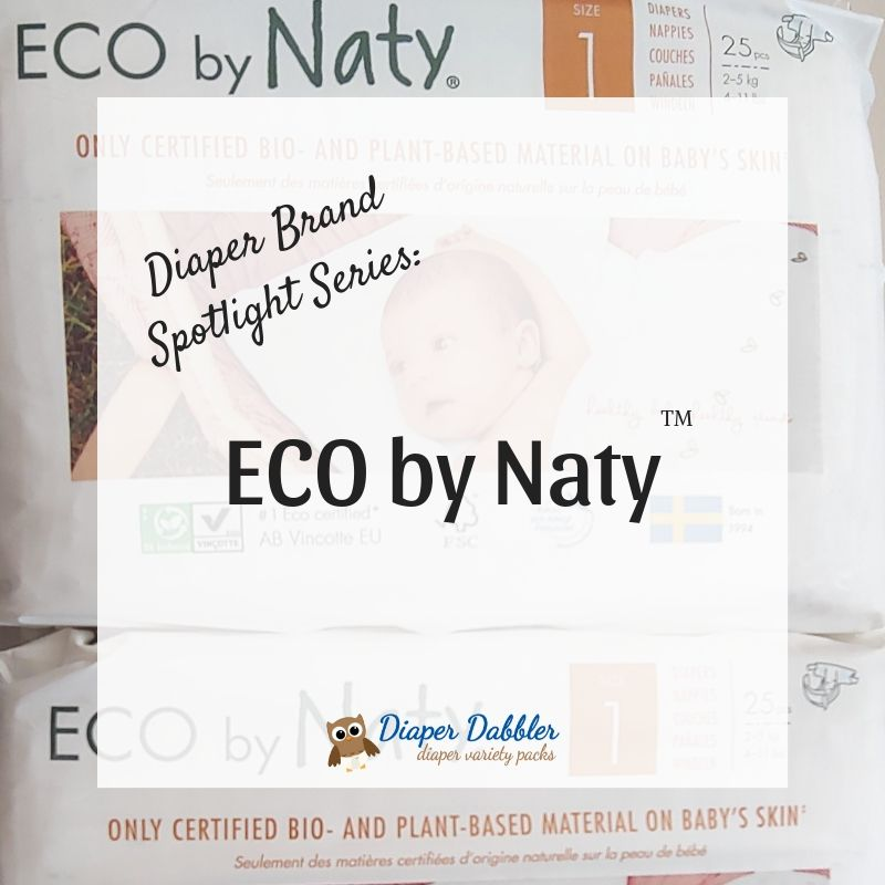 Diaper Brand Spotlight Series: ECO by Naty