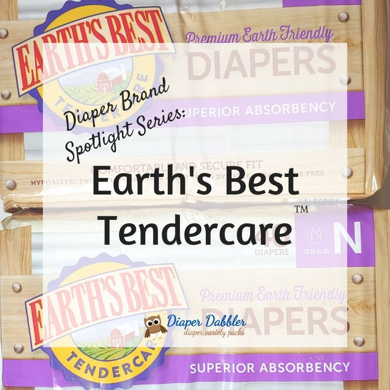 Diaper Brand Spotlight Series: Earth's Best Tendercare