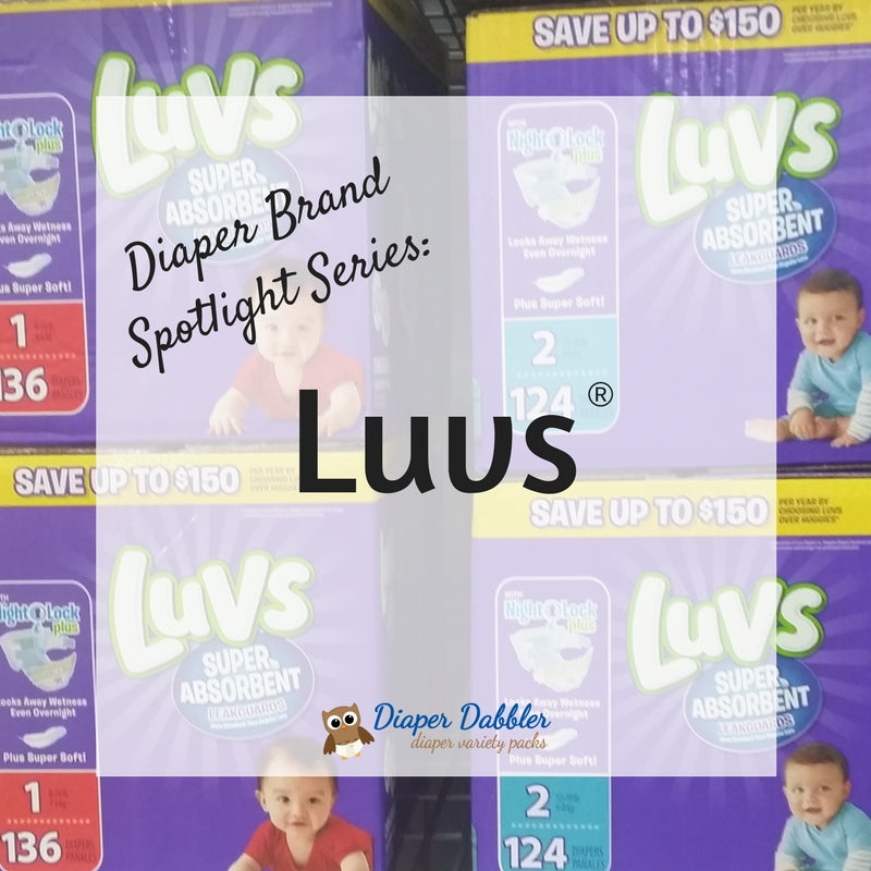Diaper Brand Spotlight Series: Luvs Super Absorbent Ultra Leakguards