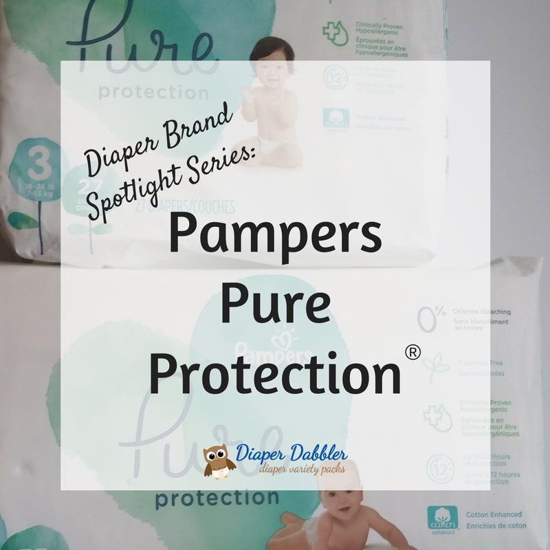 Diaper Brand Spotlight Series: Pampers Pure Protection