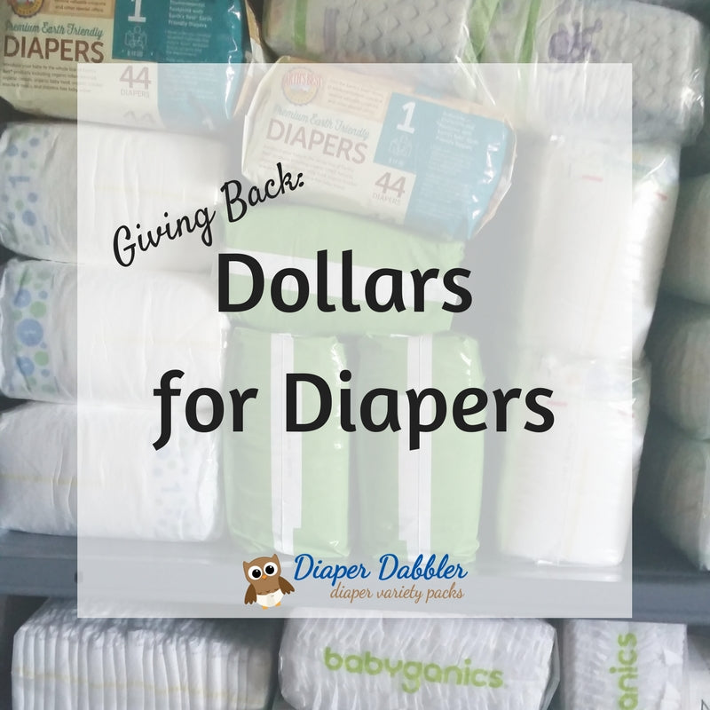 Giving Back: Dollars for Diapers