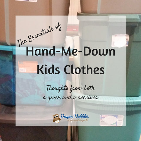 The Essentials of Hand-Me-Down Kids Clothes