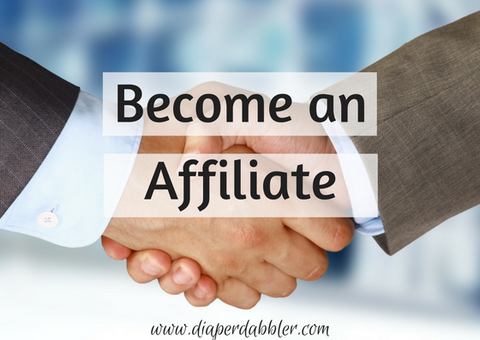 Become an Affiliate with Diaper Dabbler